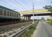 Particolre viadotto campata Ferrovia - Via Dragoni