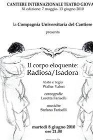 Il corpo eloquente: Radiosa Isadora