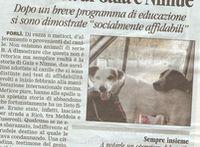 articolo del Corriere sui cani