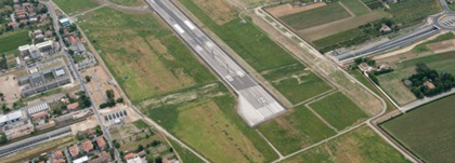 Galleria da via Decio Raggi a Fontanelle foto aerea pic