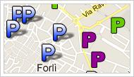parcheggi mappa