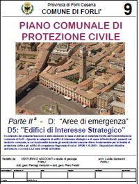Aree di emergenza Piano Comunale Protezione Civile