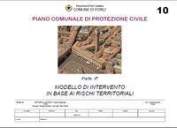 Modello d'intervento Piano Comunale Protezione Civile