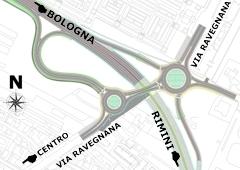 Planimetria Svincolo Via Ravegnana