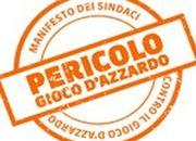 Logo manifesto sindaci contro gioco dazzardo