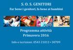 SOS Genitori primavera 2016