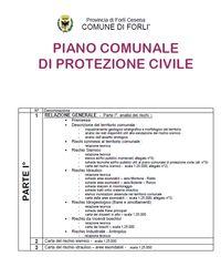 Indice Piano Comunale Protezione Civile