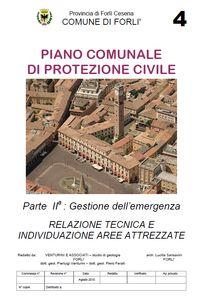 Relazione tecnica Piano Comunale Protezione Civile 2012