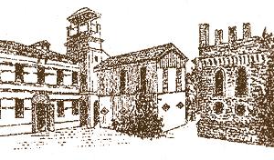 Particolare anticato di Forlì