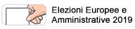 Elezioni Europee e Amministrative 2019