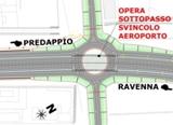 Planimetria Opera sottopasso Svincolo Aeroporto